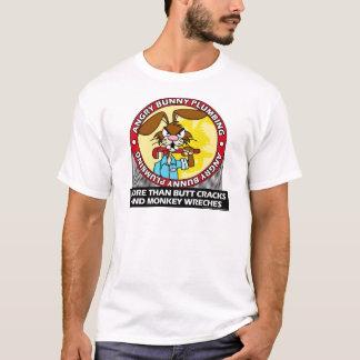Angry Bunny Plumbing T-Shirt