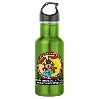Angry Bunny Plumbing Water Bottle