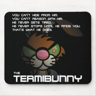 Angry Bunny Termibunny Mousepad
