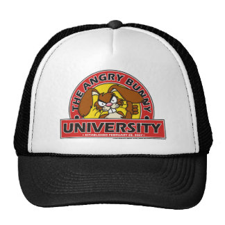 Angry Bunny University Hat