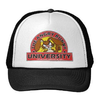 Angry Bunny University Hats