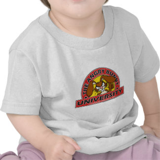 Angry Bunny University T Shirt