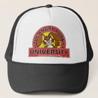 Angry Bunny University Trucker Hat
