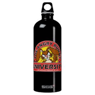 Angry Bunny University Water Bottle