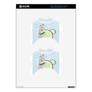Angry Bunny Vector Icon Xbox 360 Controller Decal