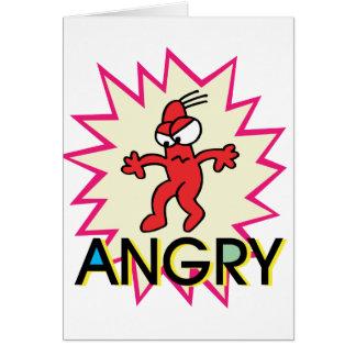 Angry Card