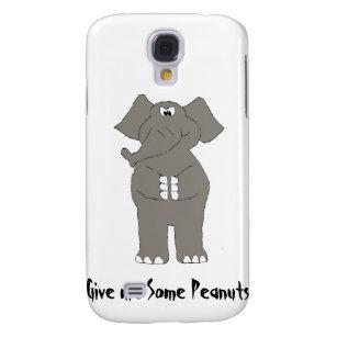 Angry Cartoon Elephant Samsung S4 Case