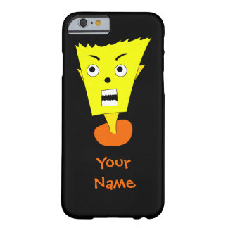 Angry Cartoon Face Barely There iPhone 6 Case