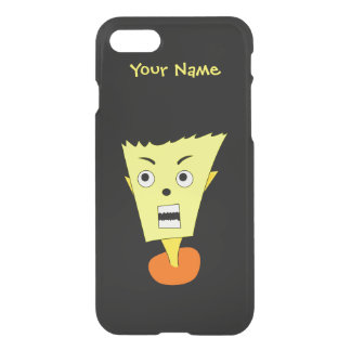 Angry Cartoon Face iPhone 7 Case