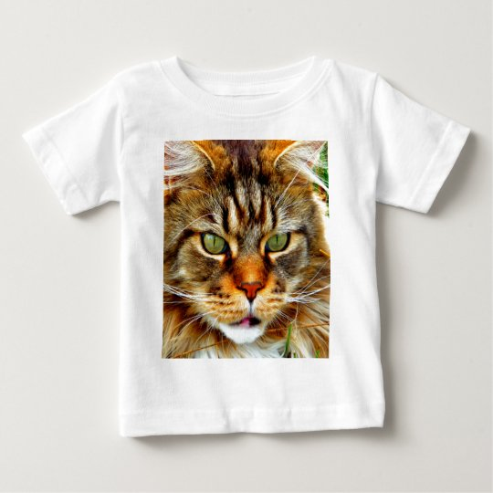 Angry Cat Baby T-Shirt