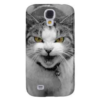 Angry Cat Galaxy S4 Case