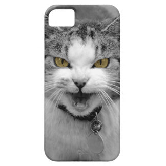 Angry Cat iPhone 5 Covers