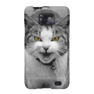 Angry Cat Samsung Galaxy SII Cases