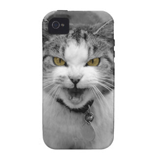 Angry Cat Case-Mate iPhone 4 Covers