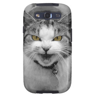Angry Cat Galaxy SIII Case