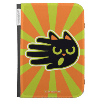Angry Cat Kindle 3 Cases