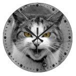 Angry Cat Clocks