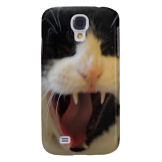 Angry Cat Galaxy S4 Cover