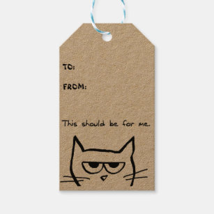 Crazy Cat Lady Gift Tags Gift Enclosures Zazzle