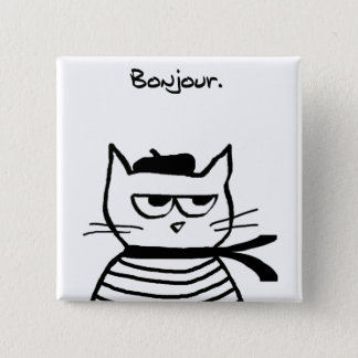 Angry Cat is So Very French Button