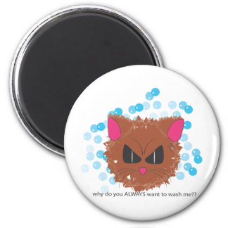 ANGRY CAT REFRIGERATOR MAGNETS