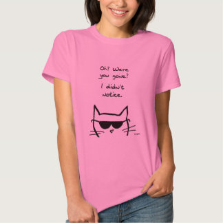 Angry Cat Pouts When You're Gone T-Shirt