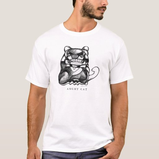 Angry Cat T-Shirt