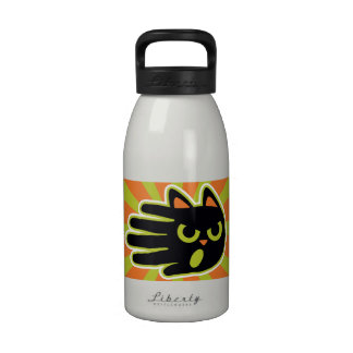 Angry Cat Drinking Bottles