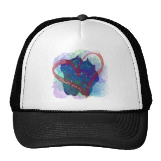 Angry Cats Trucker Hat
