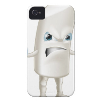Angry chalk stick man iPhone 4 cover