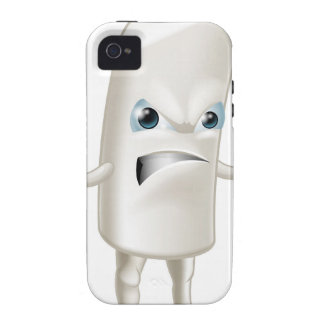 Angry chalk stick man Case-Mate iPhone 4 covers