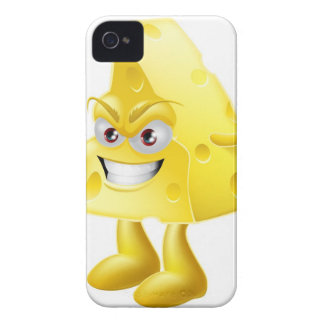 Angry cheese man Case-Mate iPhone 4 cases