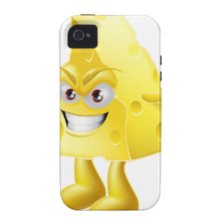 Angry cheese man vibe iPhone 4 covers