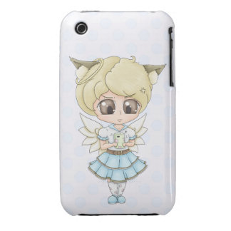 Angry Chibi Angel iPhone 3 Covers