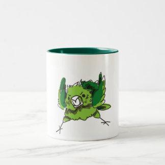 Angry Chicken Two-Tone Coffee Mug