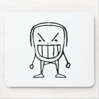 Angry Child Cartoon Mouse Pad