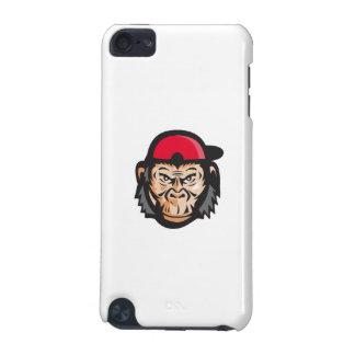 Angry Chimpanzee Head Baseball Cap Retro iPod Touch (5th Generation) Cover