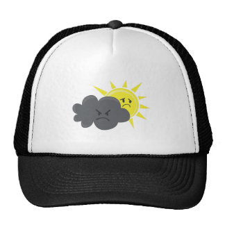 Angry Cloud Trucker Hat