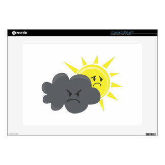 Angry Cloud Skin For Laptop