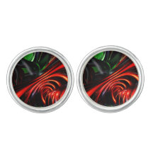 Angry Clown Abstract Cufflinks