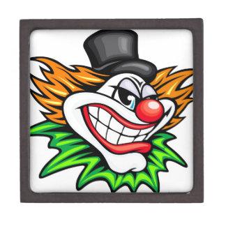 Angry Clown Deisgn Gift Box