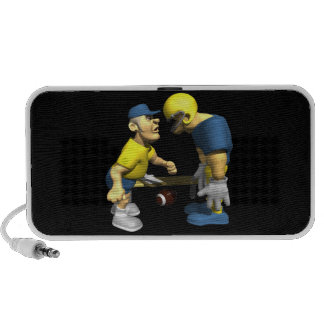 Angry Coach Mp3 Speakers