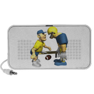 Angry Coach Notebook Speaker