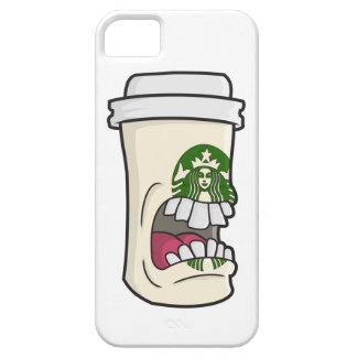 Angry Coffee Cup iPhone 5 Cover