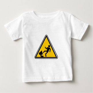 Angry Computer User Baby T-Shirt
