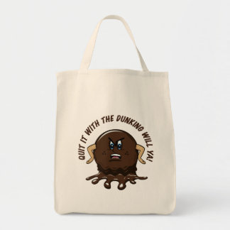 Angry Cookie Tote Bag