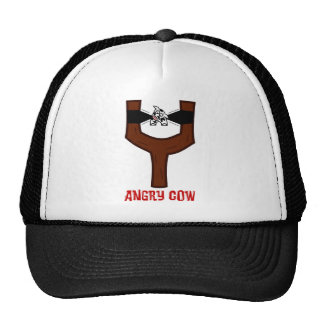 Angry Cow Mesh Hat