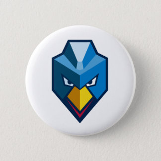 Angry Cyberpunk Chicken Icon Button
