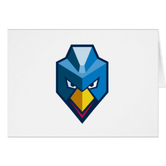 Angry Cyberpunk Chicken Icon Card