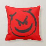 Angry/Devious Two Moods Pillow 2